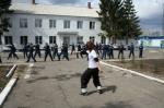 Осуждённые канской колонии для несовершеннолетних занялись фитнесом