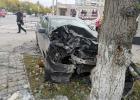 В Ачинске на улице Кравченко произошло крупное ДТП