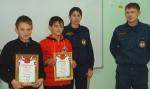 Ученики Шушенской школы Шарыповского района награждены за участие в тушении пожара