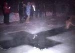 Вице-спикер Ачинского горсовета отважно нырнул в крещенскую купель
