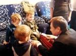 Ачинским тройняшкам исполнилось три года