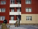В Ужуре прошли учения по пожарной безопасности