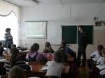 Инспекторы ДПС Назарово проводят уроки в школах