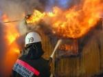 В Ужуре на пожаре погибли два человека
