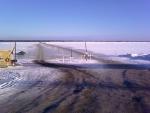 Закрывают ледовые переправы