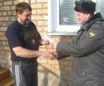 В Назаровском районе проходят дни профилактики