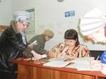 Специалисты соцзащиты Назарово ведут прием в п. Бор