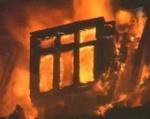 В Шарыповском районе сгорел жилой дом