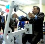 В Ачинске в школе олимпийского резерва по единоборствам появился современный тренажерный зал