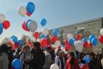 В первомайской демонстрации в Ачинске приняли участие около 6 тысяч человек (фото)