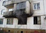 В Шарыпово на пожаре пострадал человек