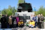 В День пограничника в Ужуре открыли мемориальную доску