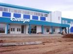В Шарыпово завершается строительство физкультурно-оздоровительного комплекса
