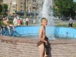 В Назарово заработал фонтан (фото)