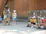 В назаровском детском саду прошел КВН по правилам дорожного движения