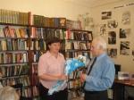 В Боготольской библиотеке прошла встреча с писателем