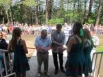"""В назаровском лагере """"Спутник"""" открыли спортивную базу биатлона"""