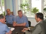 Председатель Общественного совета Валерий Васильев провел занятие для шарыповских полицейских