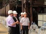 Назарово посетил министр промышленности и энергетики края Денис Пашков