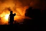 В поселке Дубинино сгорел жилой дом