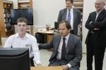 Губернатор края встретился с ужурскими школьниками