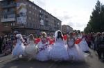 В Назарово прошел парад невест
