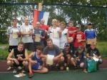 В Назарово прошли соревнования по стритболу