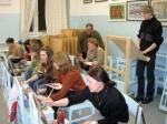 В Ачинске организована выставка юных художников