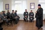 Служители церкви провели встречу с ужурскими полицейскими