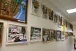 В назаровском Пенсионном фонде открылась выставка флористов