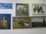 В Назарово открылась художественная выставка «Транссибирский экспресс»