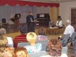 В Шарыпово при участии священника состоялось открытие международного музыкального проекта