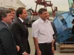 Третий визит губернатора в Назарово