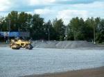 Строительство футбольной арены в Ачинске идет полным ходом
