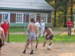 В назаровском лагере «Спутник» прошел товарищеский матч по футболу