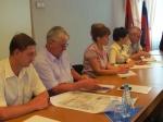 Сегодня Назарово посетил министр Красноярского края Андрей Вольф