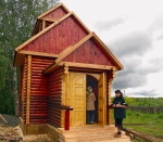 В селе Юрьевка Боготольского района завершается строительство часовни