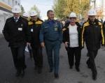 Министр МЧС России Сергей Шойгу посетил Ачинский НПЗ
