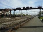 В Назарово молодой человек погиб под колесами поезда