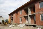 В Ужуре завершается строительство нового дома