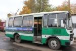 """Автобусы ООО """"Водоканал"""" в новом оформлении"""