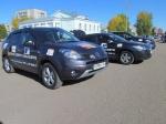 Автопробег по городам вещания «Дорожного радио» прибыл в Назарово