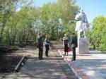 В с. Локшино Ужурского района восстанавливают парковую зону