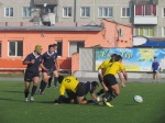 Ачинская регбийная команда «Сибирь» победила английский «Оксфорд»