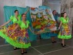 Творческая группа Ачинска представила лоскутную картину родного города