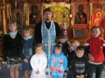 Воспитанники назаровского детского дома приняли Крещение