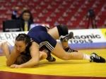 Назаровские спортсменки приняли участие в первенстве Сибирского Федерального округа по вольной борьбе