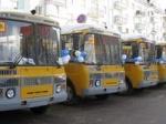 В край поступила очередная партия новых школьных автобусов