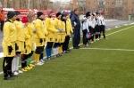 Товарищеский матч по футболу между женскими командами Ачинска и Красноярска.