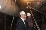 Глава города Назарово Сергей Сетов посетил ГРЭС